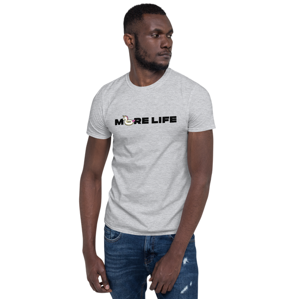 More Life Floatie (Black) — Unisex T-Shirt