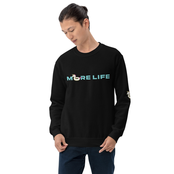 More Life Floatie (Blue)— Crewneck