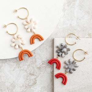 BLUME Hoop Earrings