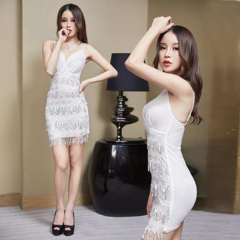 Fringe sequined dress - Urunigi.com