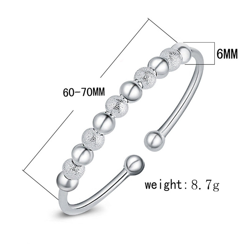 Fashion silver-plated bracelet