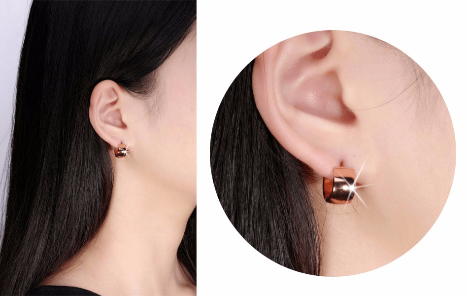 Stainless Steel Stud Earrings Fashion - Urunigi.com