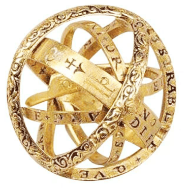 16th Century Flip Astronomical Ball Ring - Urunigi.com