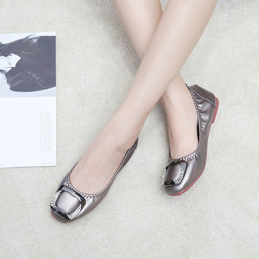 Egg roll scoop shoes women's shoes