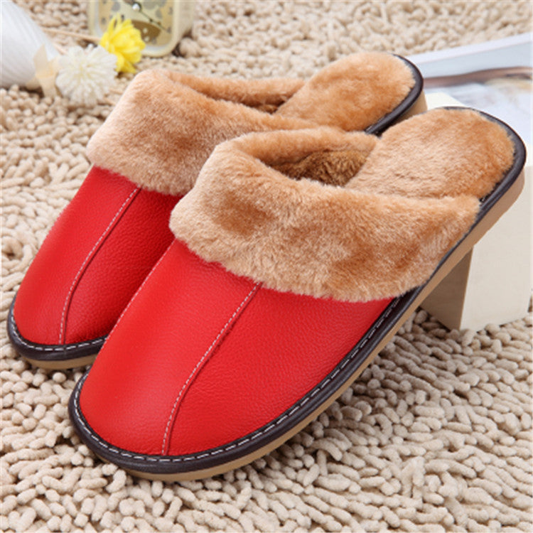 Slippers in winter new cotton slippers home slippers in autumn and winter