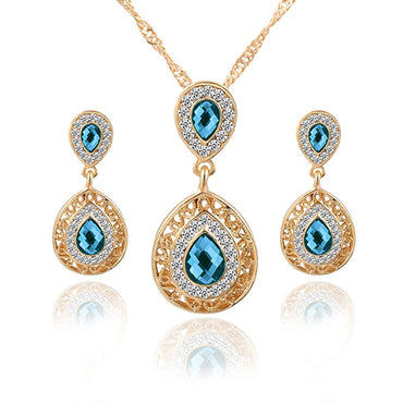 Earrings and Necklace Set Combination