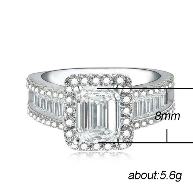 Jewellery ring with diamonds - Urunigi.com