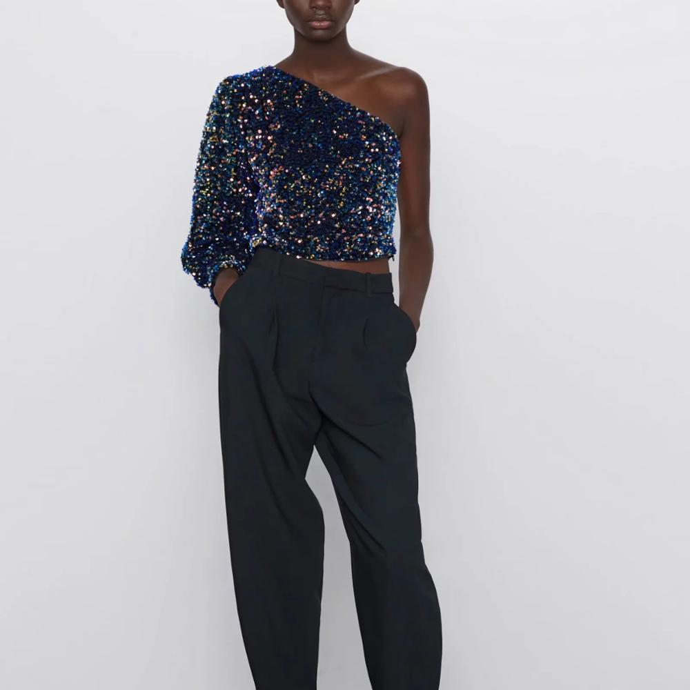 Sequined Asymmetric Top