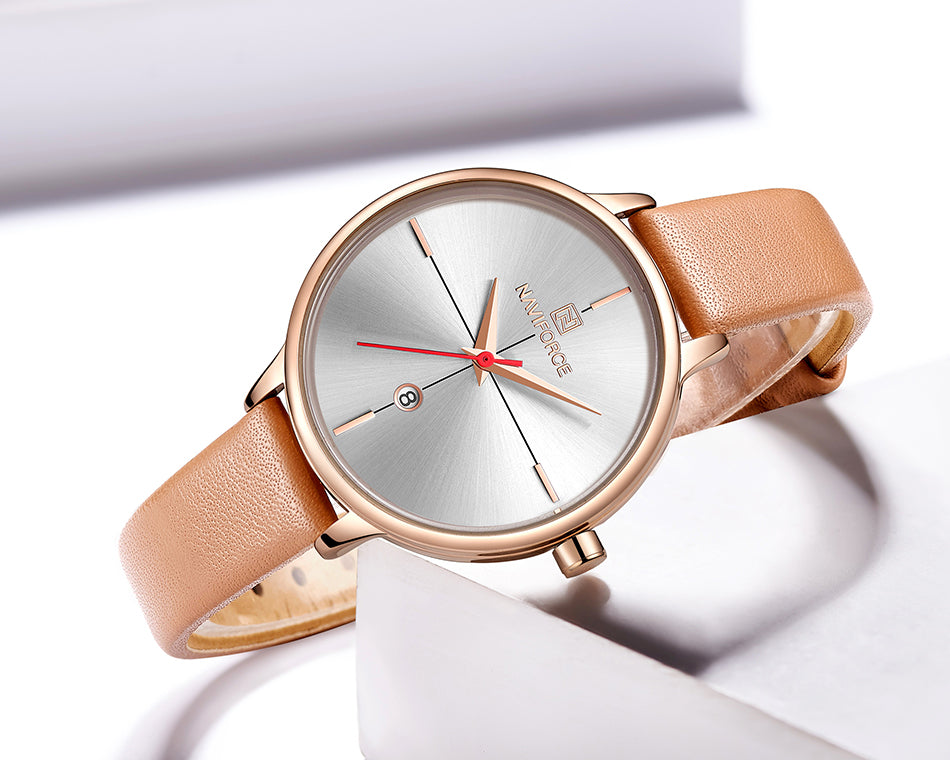 Ladies Watch Calendar Waterproof Quartz Watch Fashion
