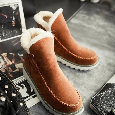 Thick cotton boots fashion snow boots women's boots - Urunigi.com