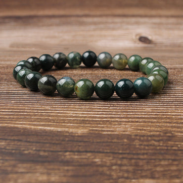 Natural water grass agate bracelet