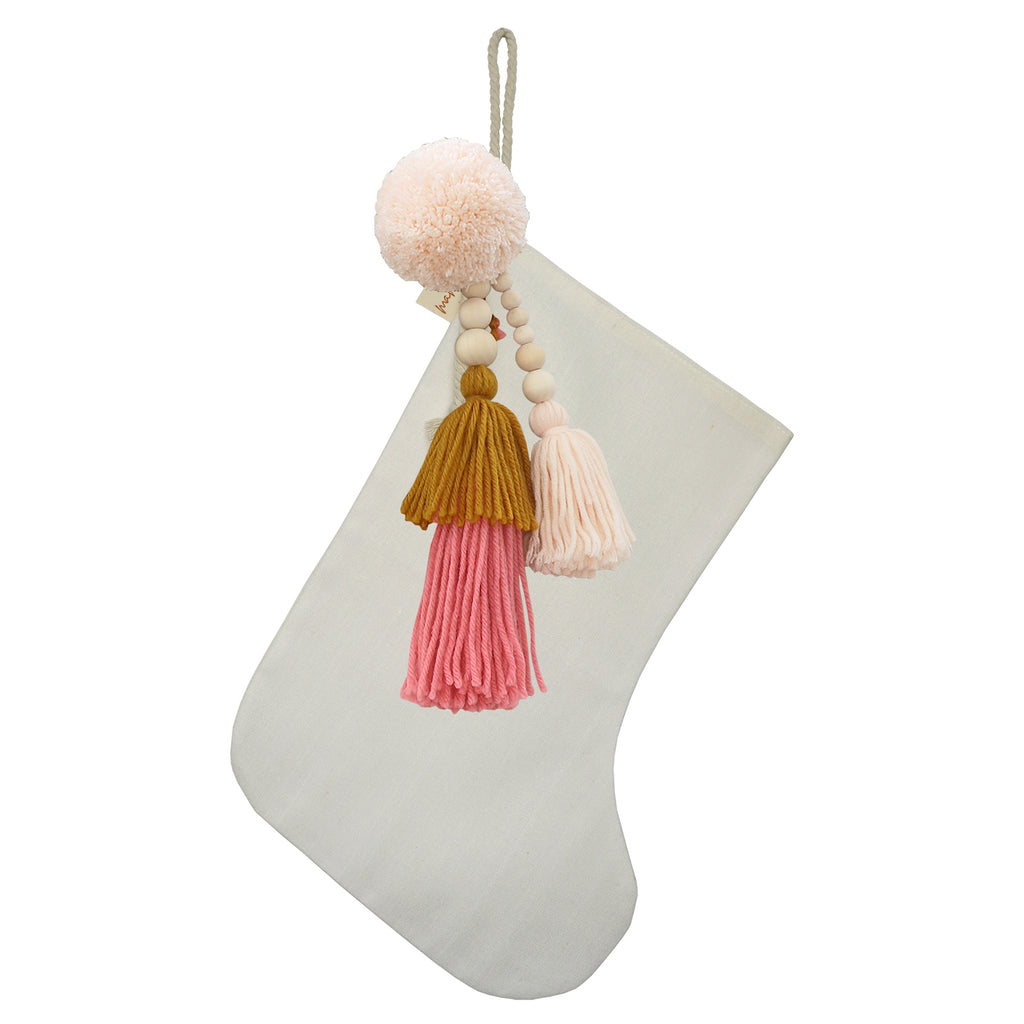SALE // Cream Stocking with Honey Pinks Jumble **PHOTOSHOOT SAMPLE**