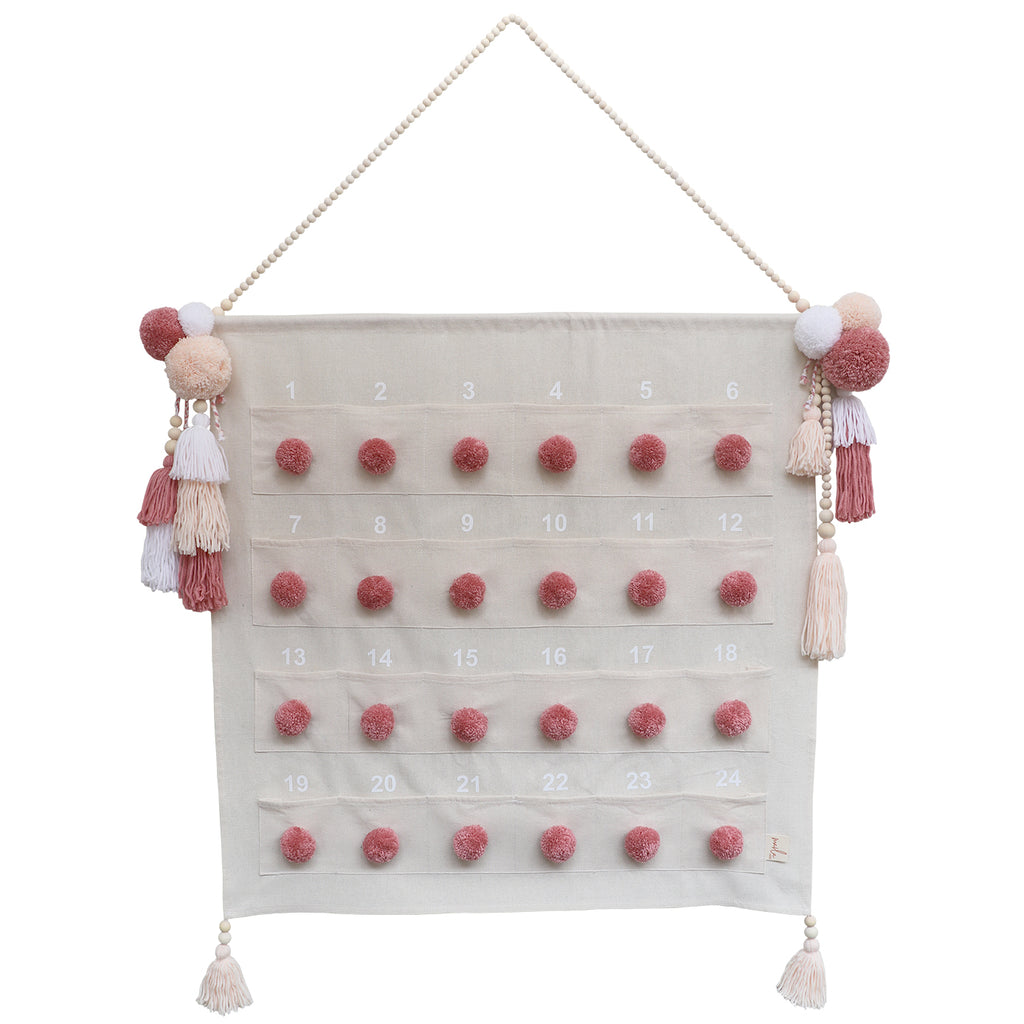 ADVENT CALENDAR // Dusty Pinks