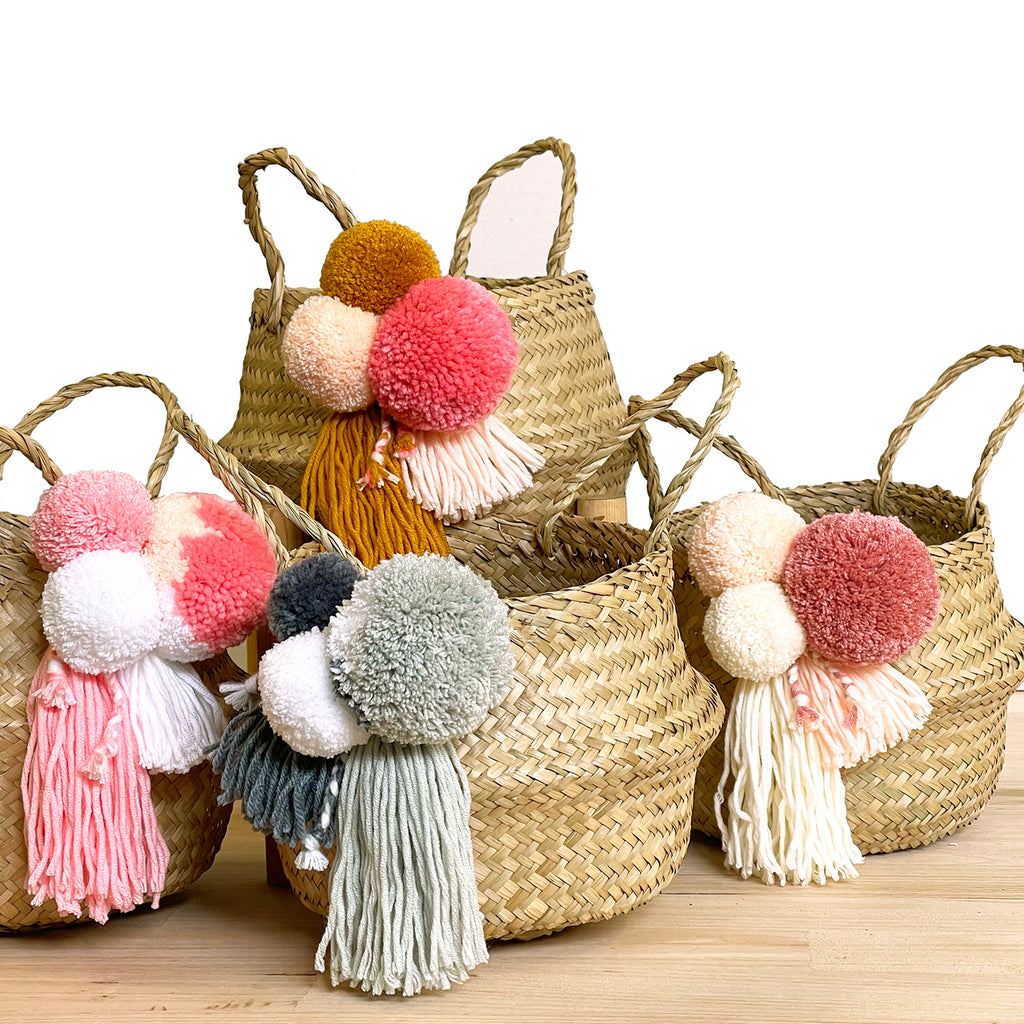 MINI // Jumble Belly Basket
