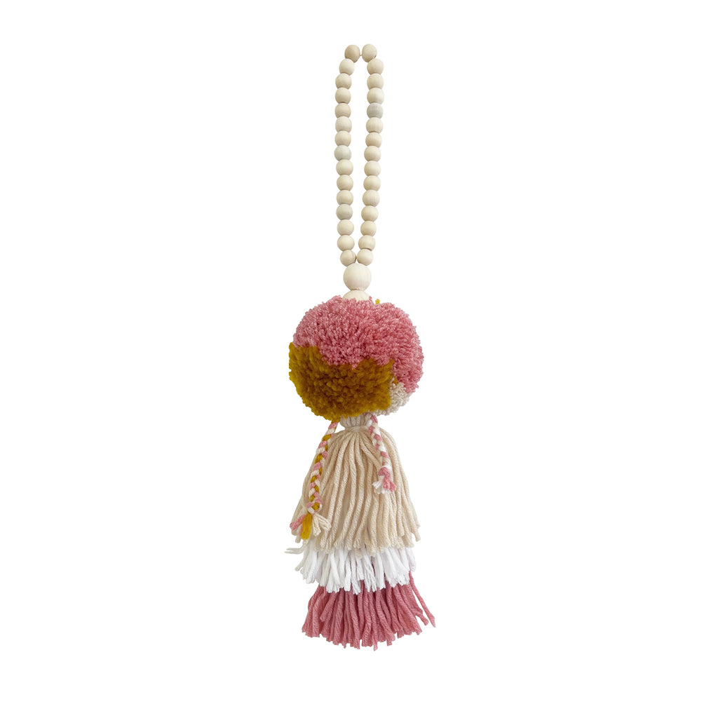HONEY ROSE // Pompom Tassel