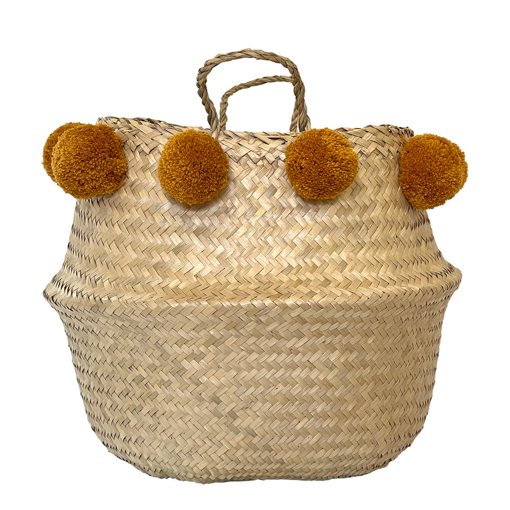 JUMBO // Pompom Belly Basket