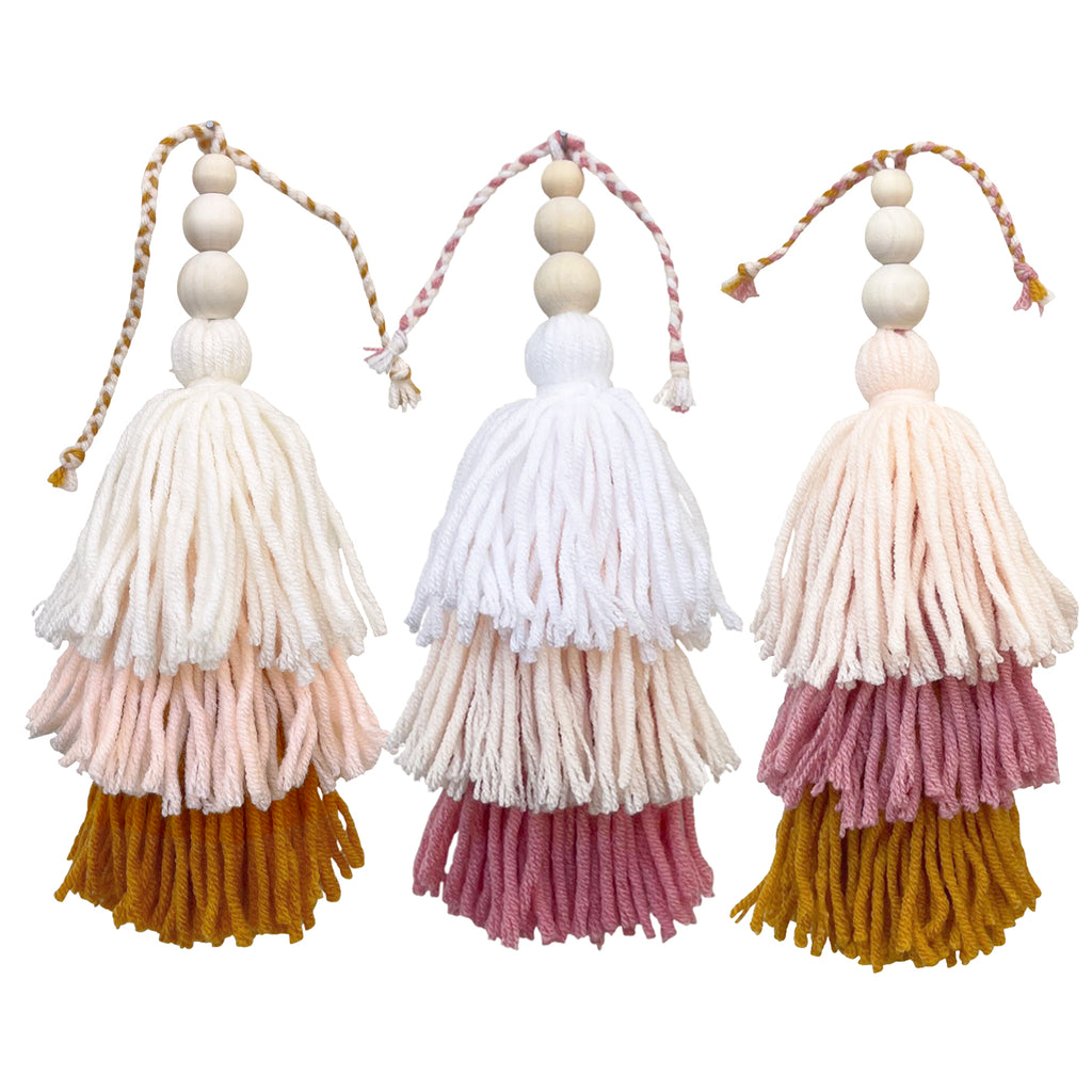 TRIO // Mini Tassel Jumble Set