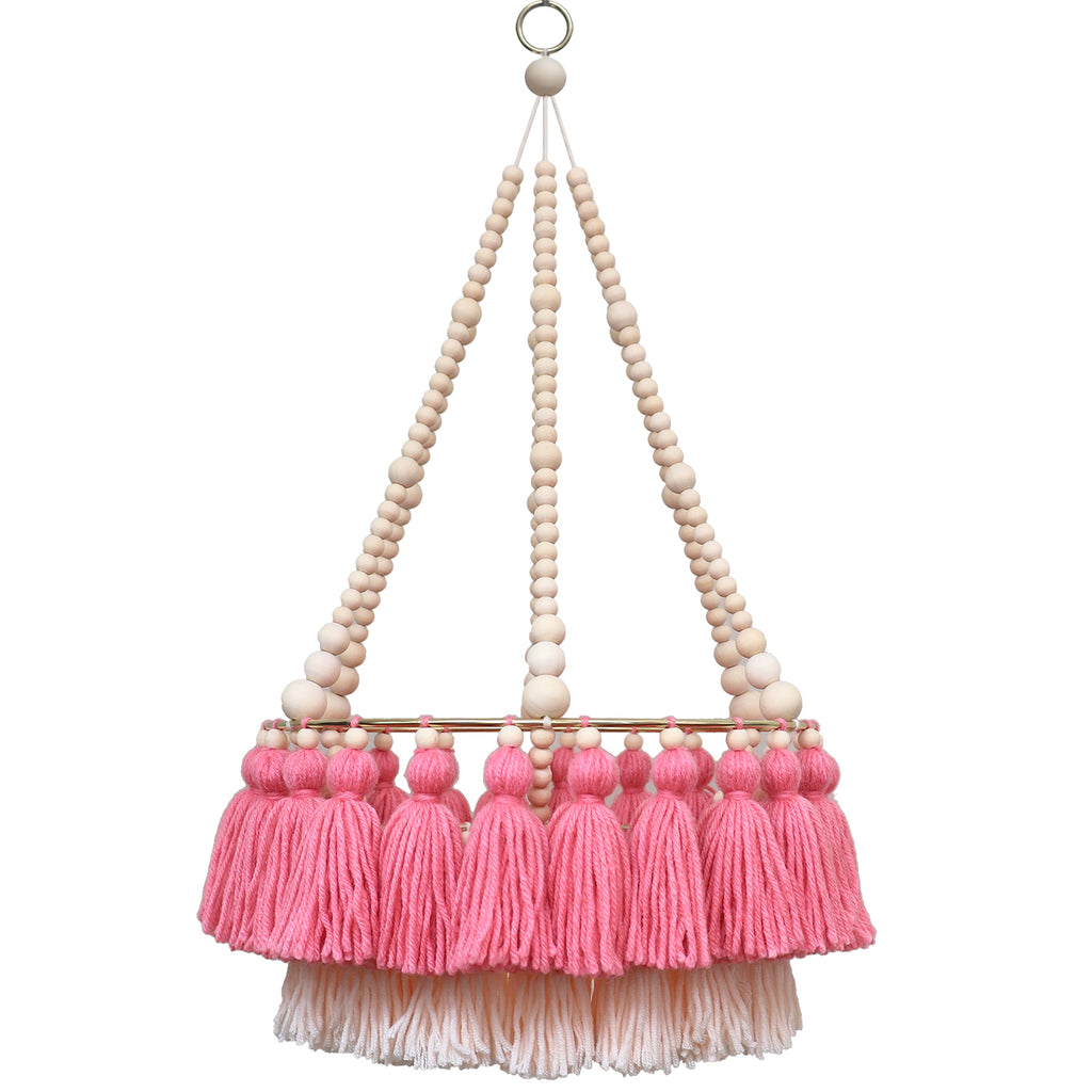 MOLLY // Double Layer Tassel Chandelier