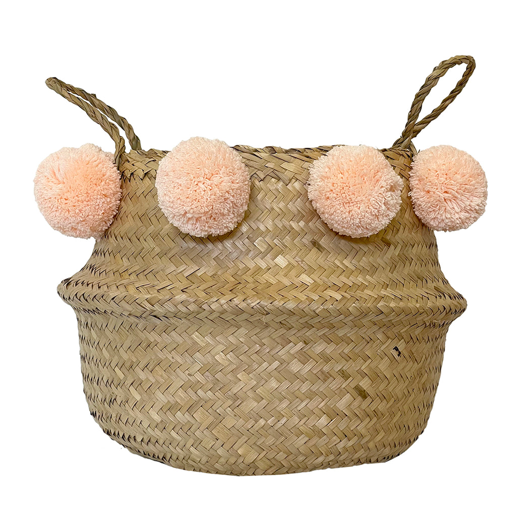 MIDI // Pompom Belly Basket