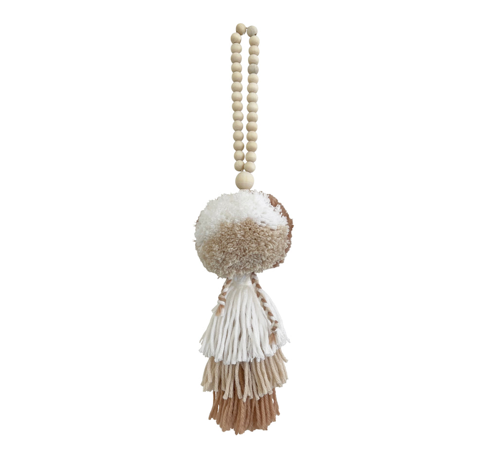 EARTH // Pompom Tassel