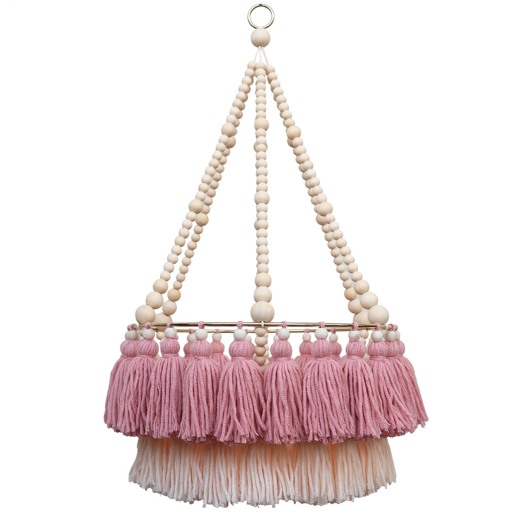 POPPET // Double Layer Tassel Chandelier