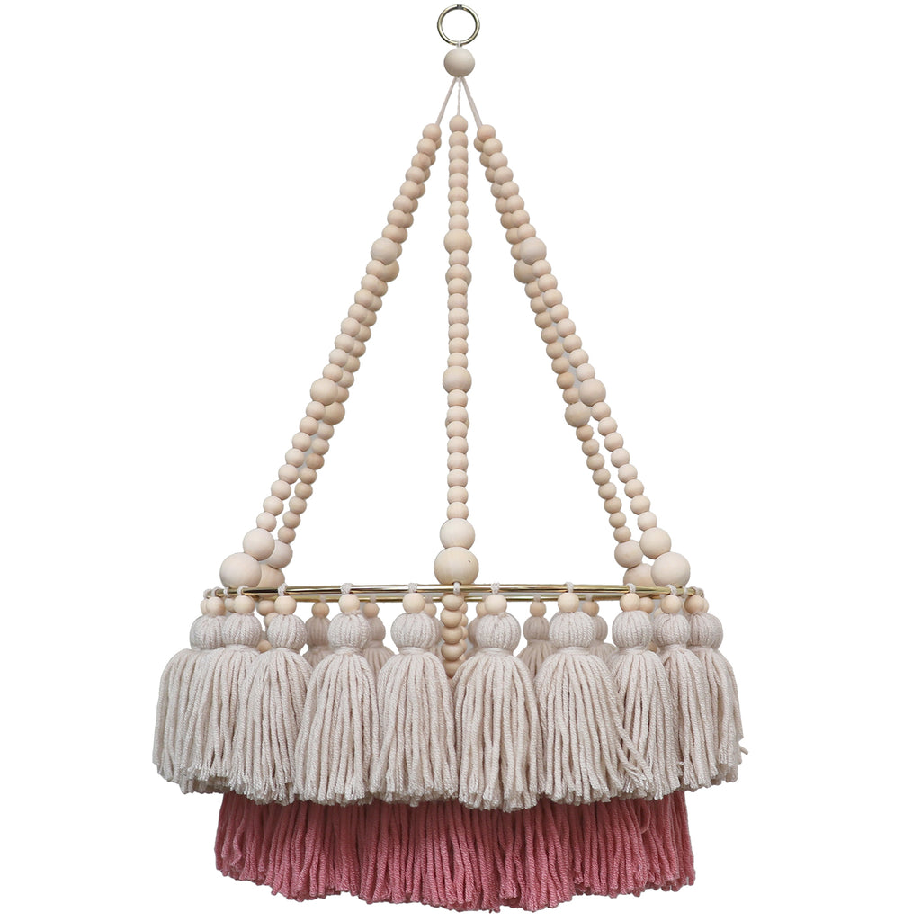 SOPHIA // Double Layer Tassel Chandelier