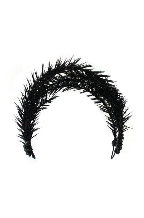 'CORVUS' - HEADBAND - BLACK