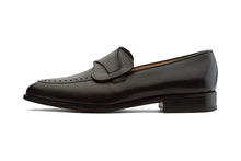 Load image into Gallery viewer, Butterfly Goodyear Welted Black Loafer
