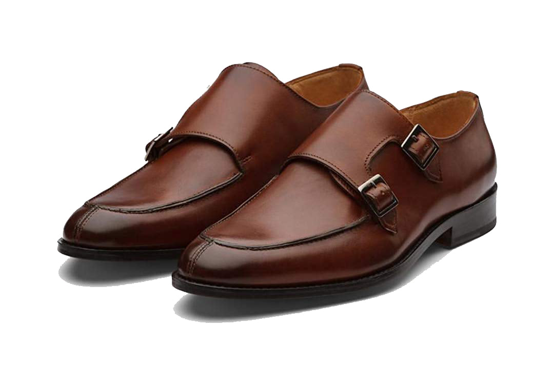 Albert Brown Goodyear Welted Single Monk Strap