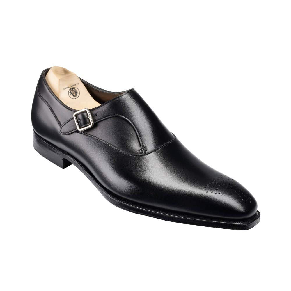 Ryan Goodyear Welted Black Single Monk Strap