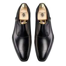 Load image into Gallery viewer, Ryan Goodyear Welted Black Single Monk Strap