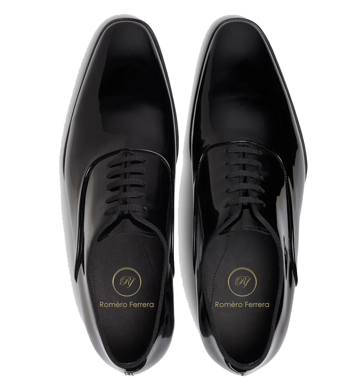 Thomas Goodyear Welted Black Patent Leather Oxford