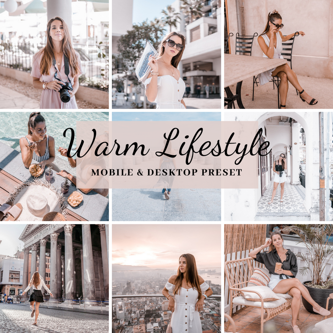 Warm Lifestyle Preset