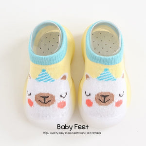 Open image in slideshow, Animal Sock Shoes - White Sheep