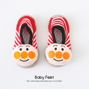 Open image in slideshow, Baby Doll Sock Shoes - Silly Clown