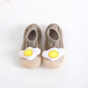 Open image in slideshow, Baby Doll Sock Shoes - Funny Egg