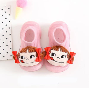 Open image in slideshow, Baby Doll Sock Shoes - Silly Girl