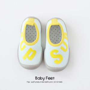 Sup Baby Sock Shoes - Light Blue