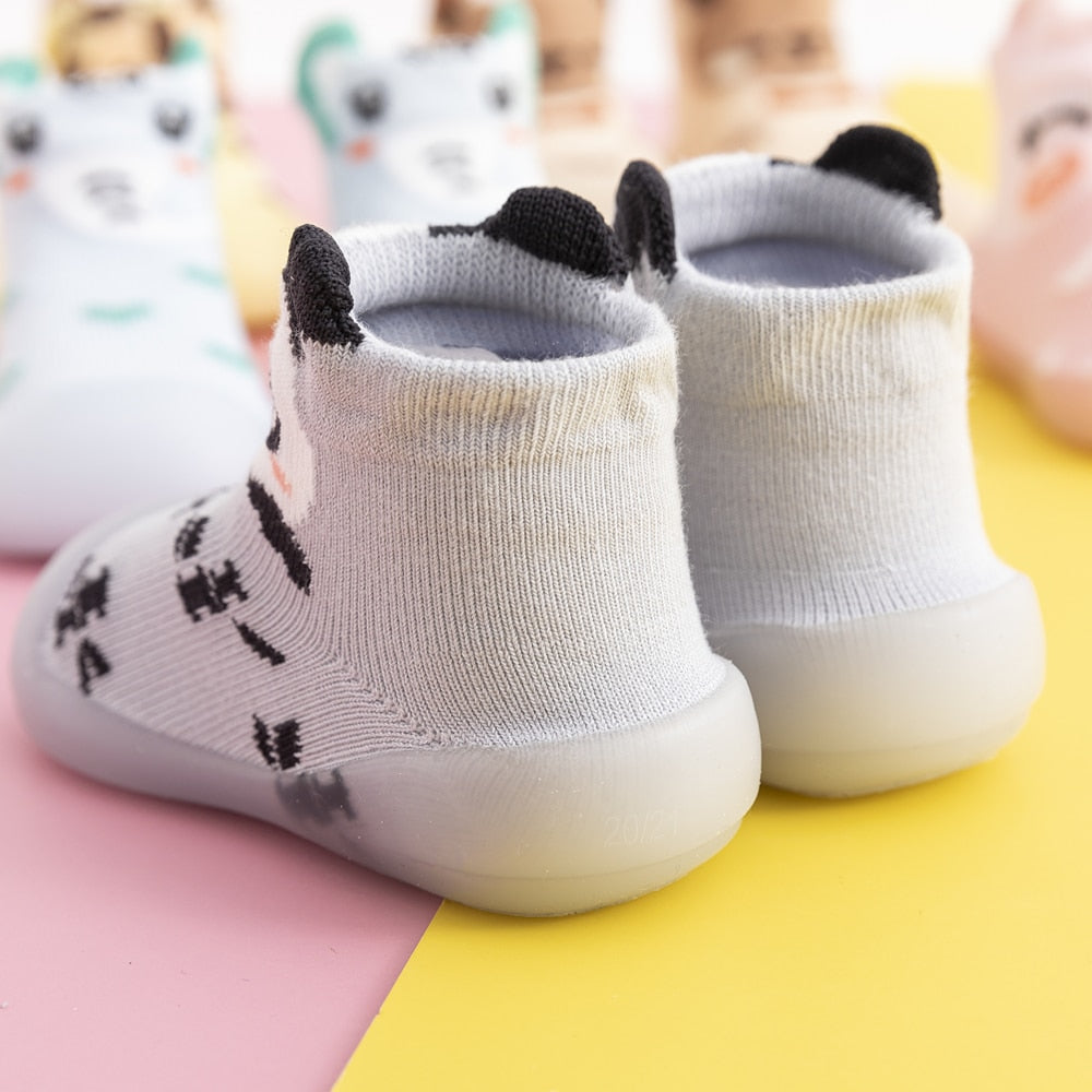 Spring Baby Sock Shoes - Panda