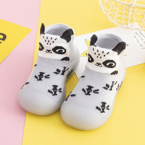 Open image in slideshow, Spring Baby Sock Shoes - Panda