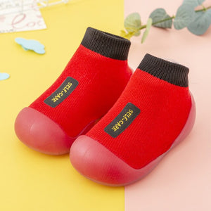 Open image in slideshow, Premium Baby Sock Shoes - Red