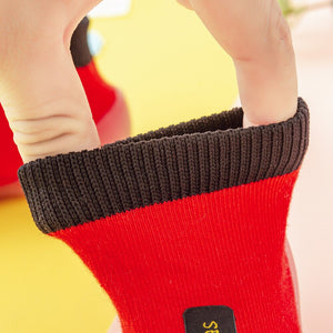 Premium Baby Sock Shoes - Red
