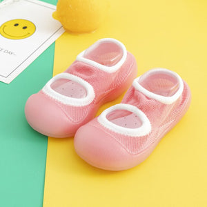 Open image in slideshow, Spring Baby Sock Shoes - Pink