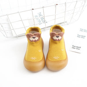 Open image in slideshow, Baby Pattern Sock Shoes - Lion