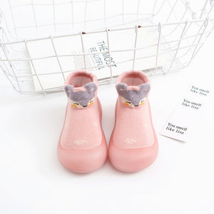 Open image in slideshow, Baby Pattern Sock Shoes - Mouse