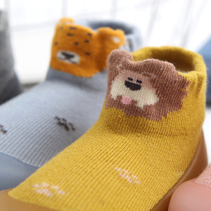Baby Pattern Sock Shoes - Lion