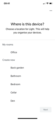 Luke Roberts Google Home Integration - Step 8.3