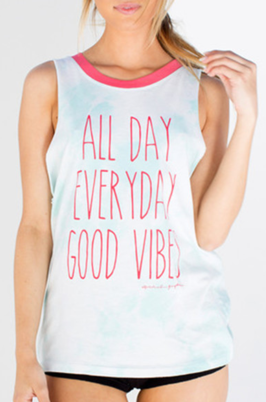 SPIRITUAL GANGSTER ALL DAY ROCKER TANK