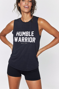 SPIRITUAL GANGSTER HUMBLE WARRIOR ACTIVE TANK