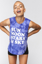 Load image into Gallery viewer, SPIRITUAL GANGSTER SKY CROP TANK